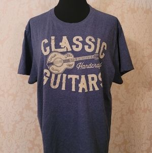 """Sonoma Graphic Tee - """"Classic Handcrafted Guitars"""""""